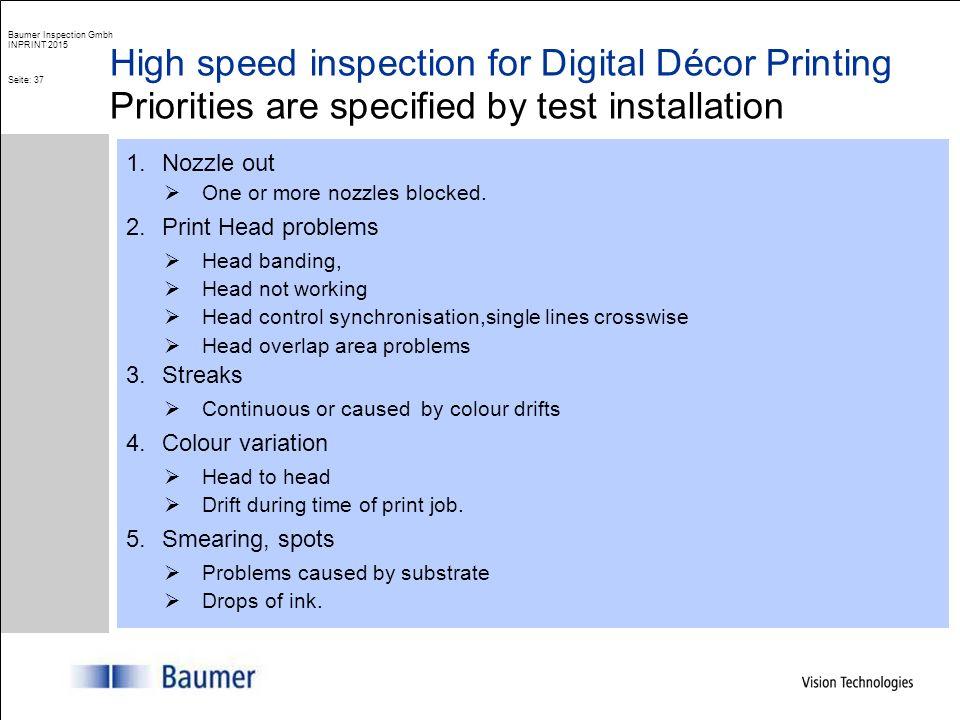 ColourBrain® High speed inspection of digital printed decor Baumer