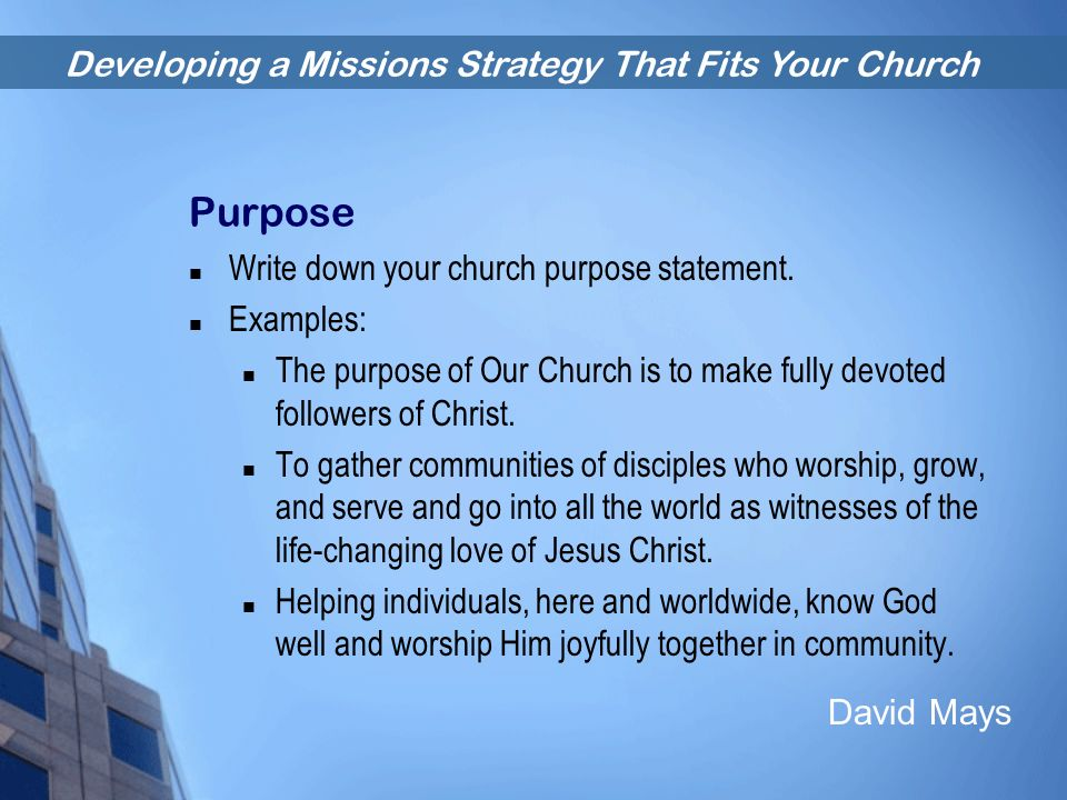 Catholic church mission statement samples examples | askoverflow.