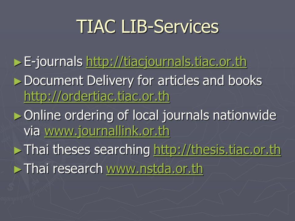 Www thesis tiac or th resume writing service chicago com