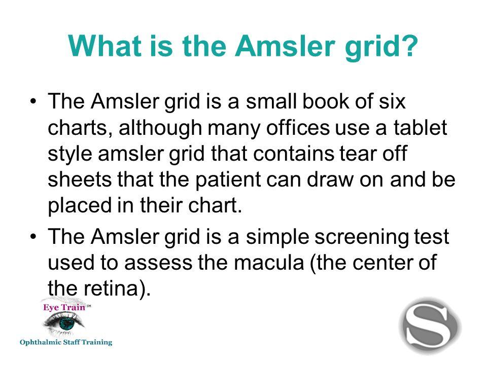 What Is The Amsler Grid Amsler Grid Am Slur Test Card Graph