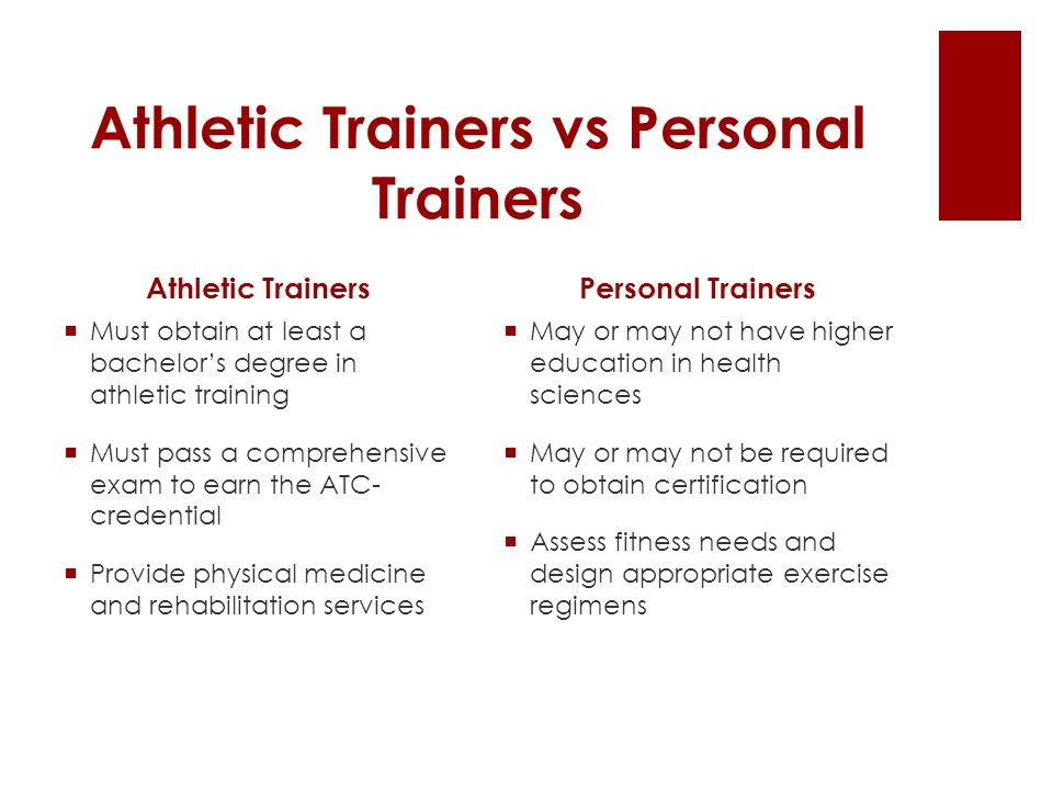 Athletic Training By Amanda Proveaux What Is Athletic Training