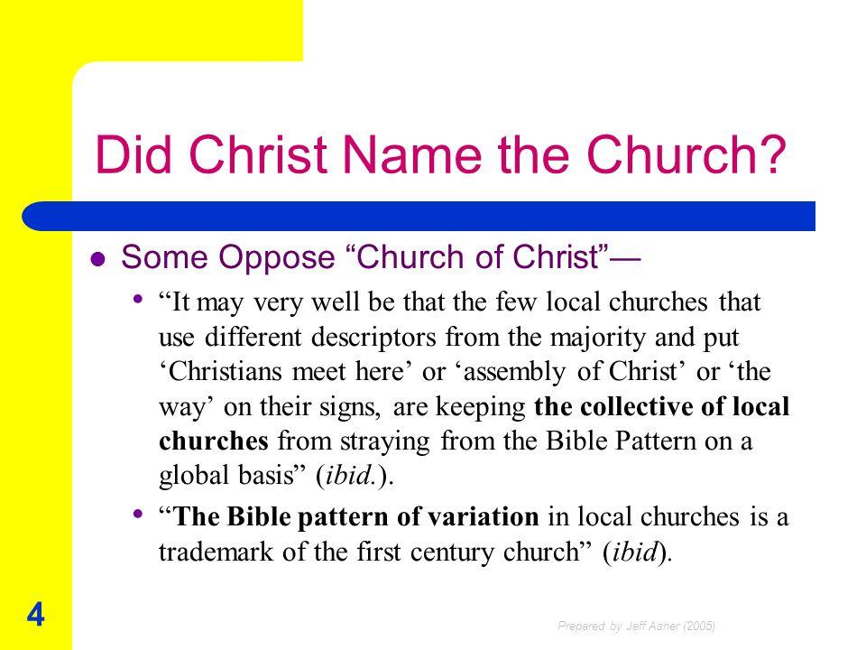 Christians meet here