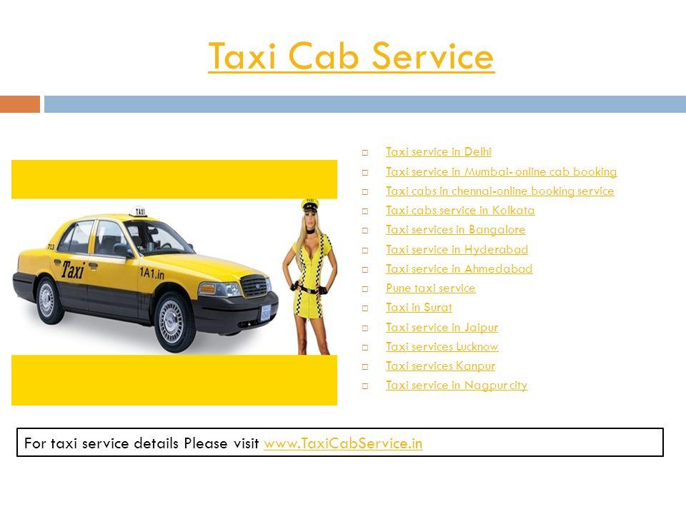 Taxi Cab Service  Taxi service in Delhi Taxi service in