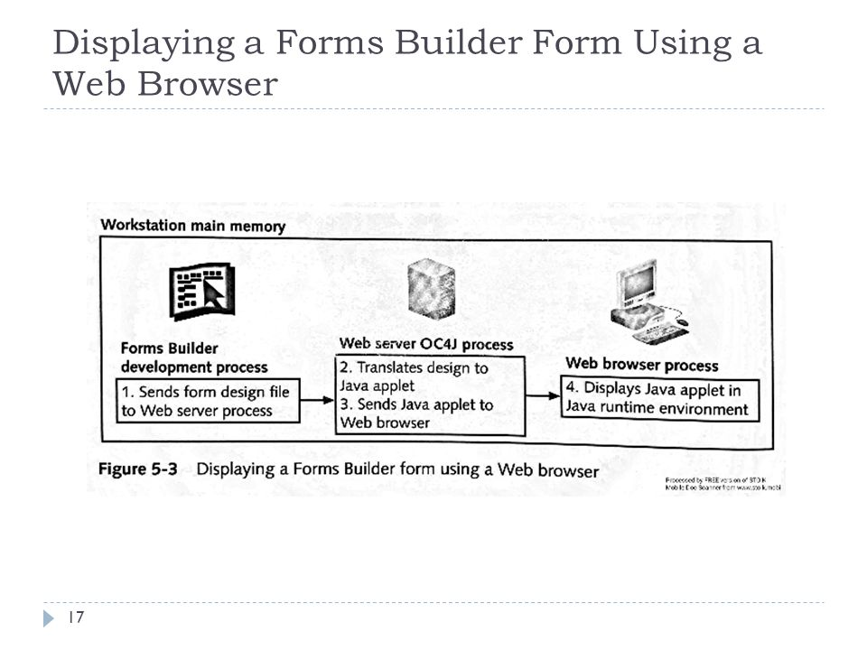Chapter 5 Introduction To Form Builder  Lesson A Objectives