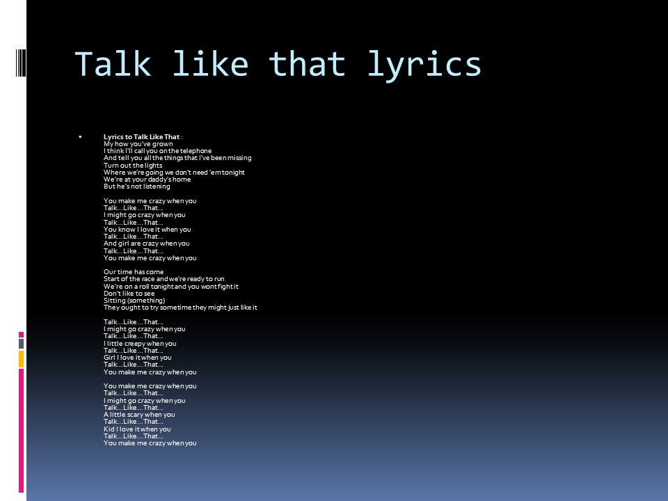 Lyric if you go away lyrics : By Nick Kuhn Introduction  Hi I am Nick as you all know and I am ...