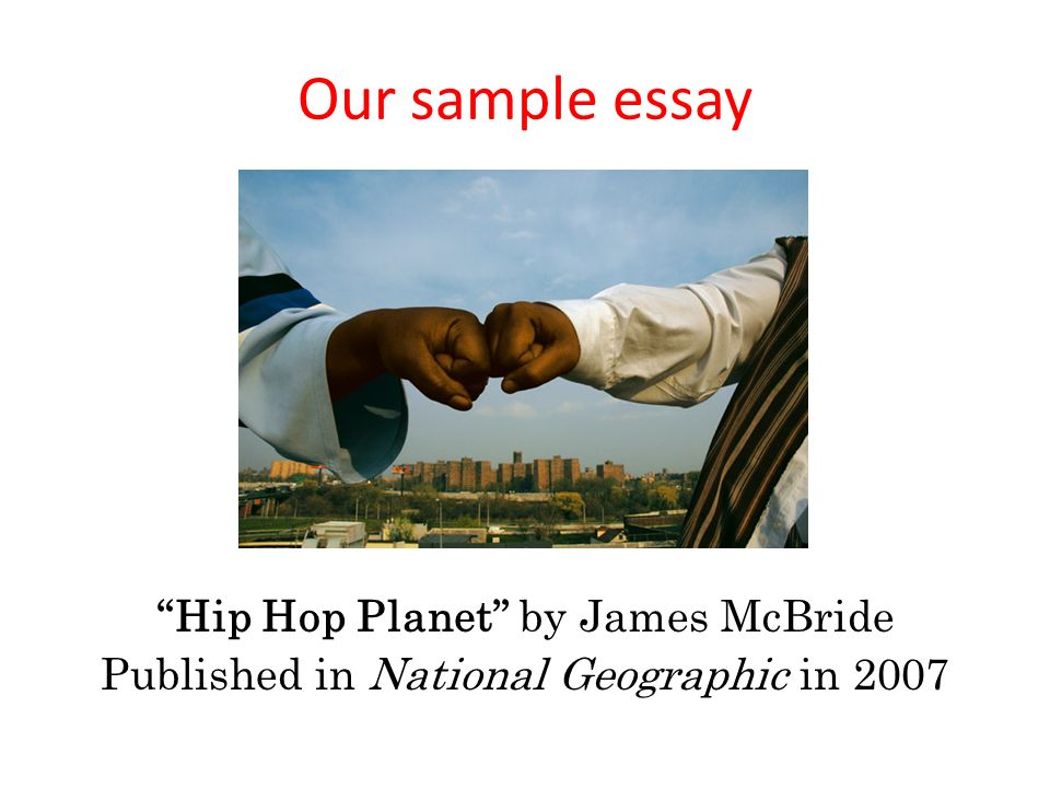 hip hop planet james mcbride
