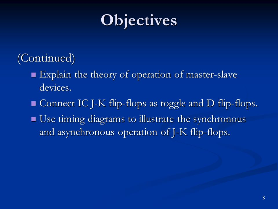 Chapter 10 Flip Flops And Registers 1 Objectives You Should Be Able