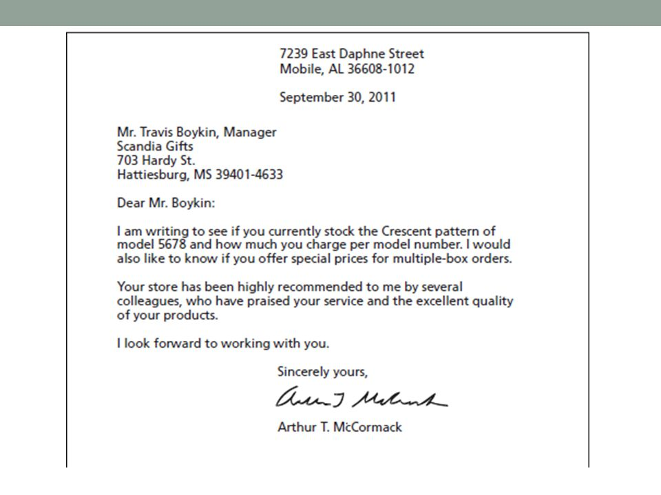 Technical Writing November 8 Today Business Letters Ppt Download