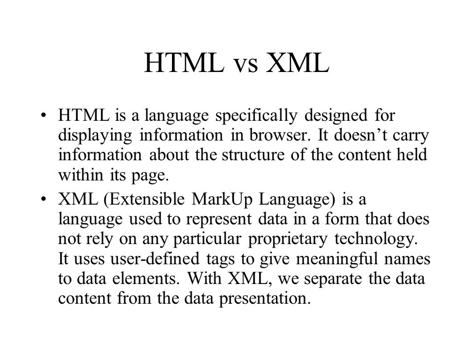 introduction to xml and web service isys 512 ppt download