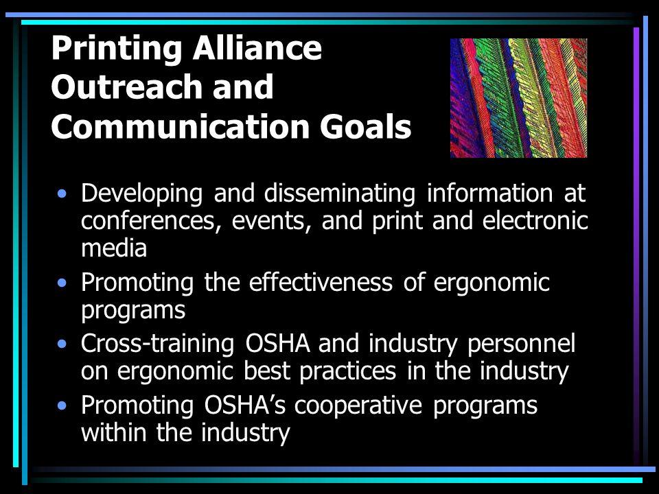 the printing alliance and cooperative programs paula o white