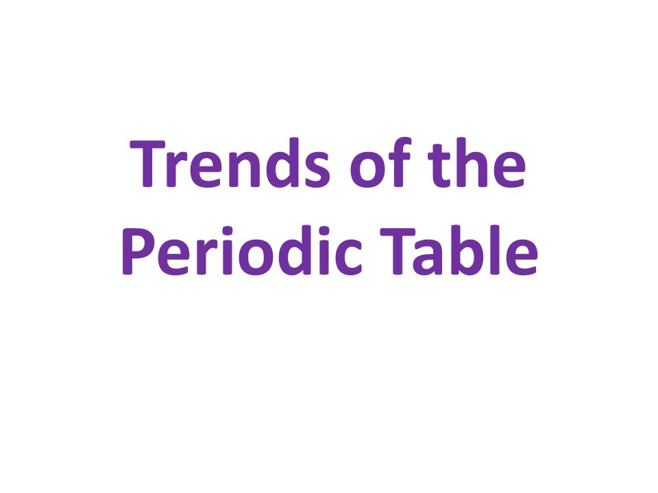 Trends of the periodic table atomic radius one half the distance 1 trends of the periodic table urtaz Image collections