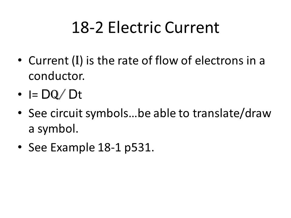 AP Physics Chapter 18 Electric Current Alessandro Volta ( ) invented ...
