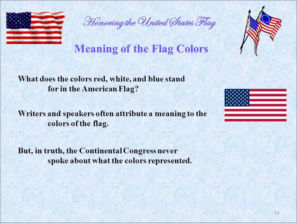 Honoring The United States Flag Jim Alexander Alabama Society
