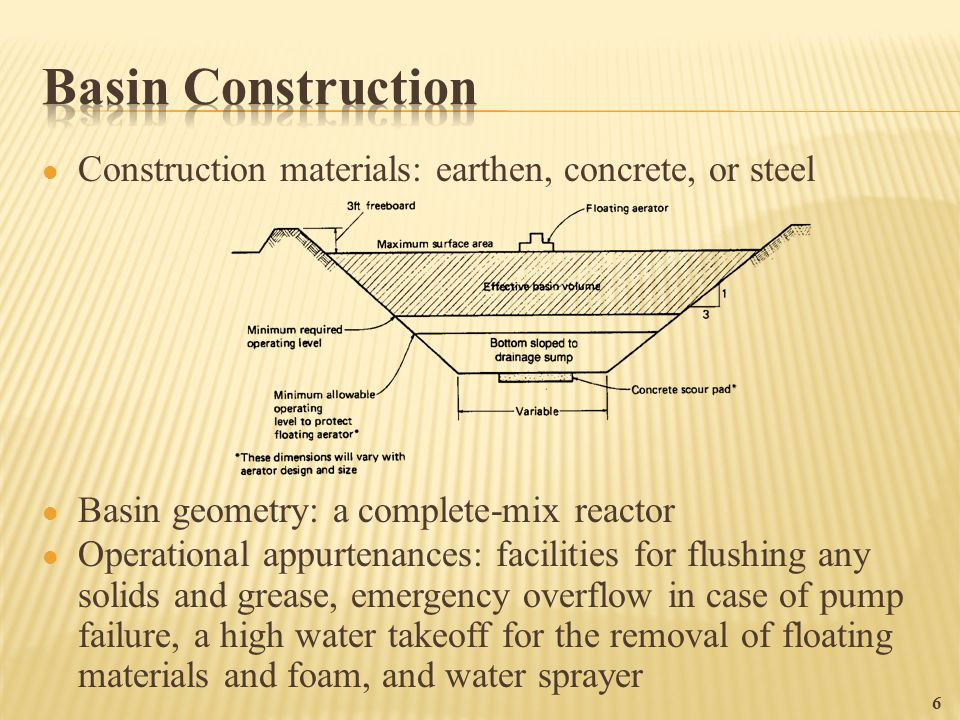 Flow Equalization 1   To overcome operational problems caused by