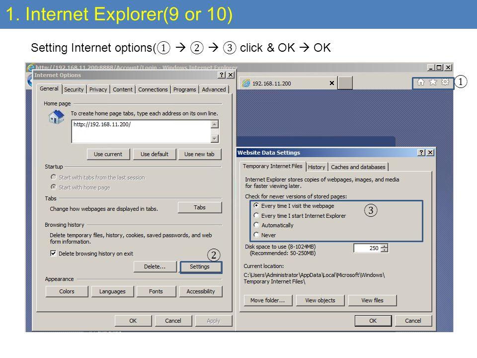 Internet Browser Setting Nov SyncSCM Team  1  Internet