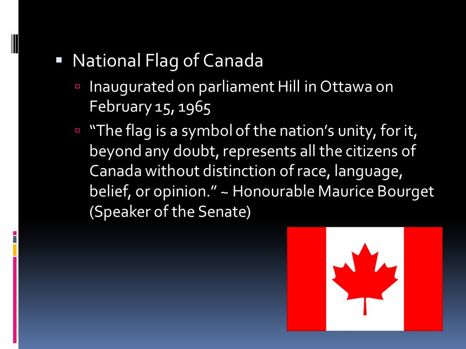 Canadian Symbols Citizenship What Is A Symbol Something That