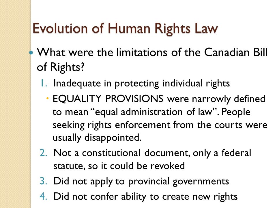 evolution of the concept of human rights