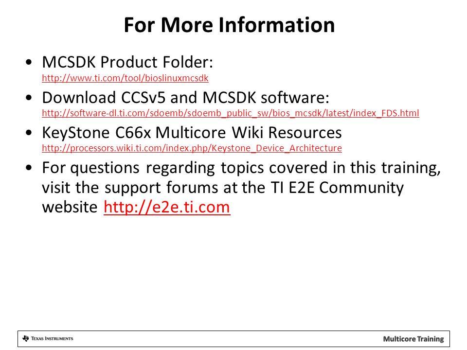 KeyStone Multicore Software Development Ecosystem  - ppt