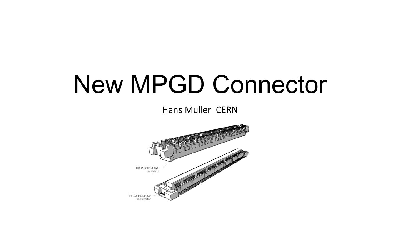 New Mpgd Connector Hans Muller Cern Motivation For White Led Driver Circuit Using Lm3530 1