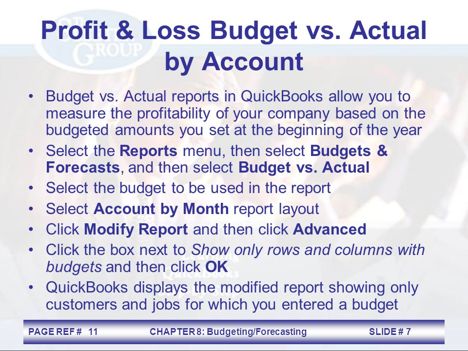 budgeting forecasting and business planning chapter ppt download