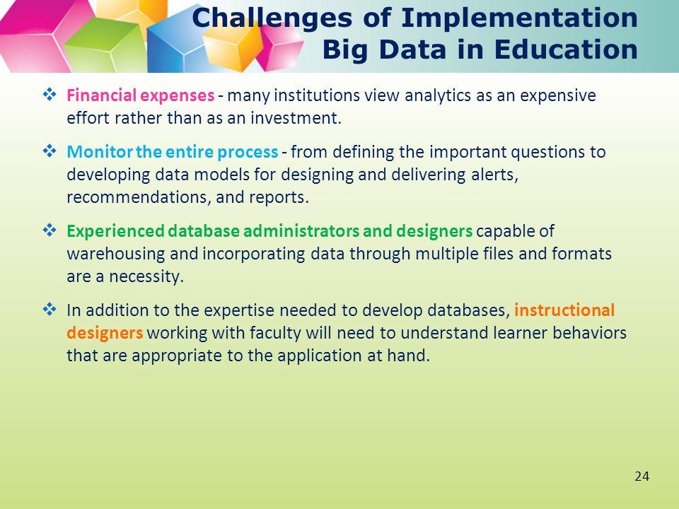 Big Data, Learning Analytics and Education Aleksanda Klašnja