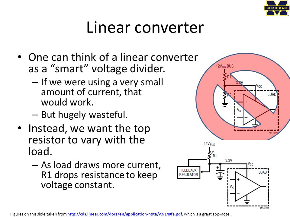 EECS 473 Advanced Embedded Systems Lecture 11ish: Power