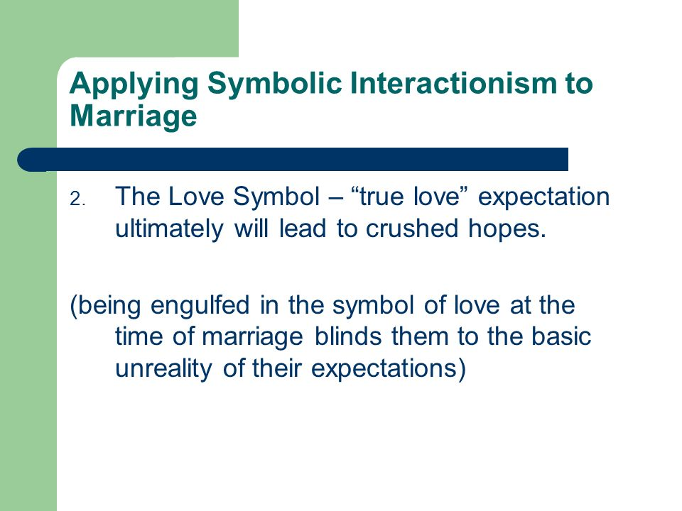 Symbolic Interactionism Sociology 3 Major Theoretical Perspectives