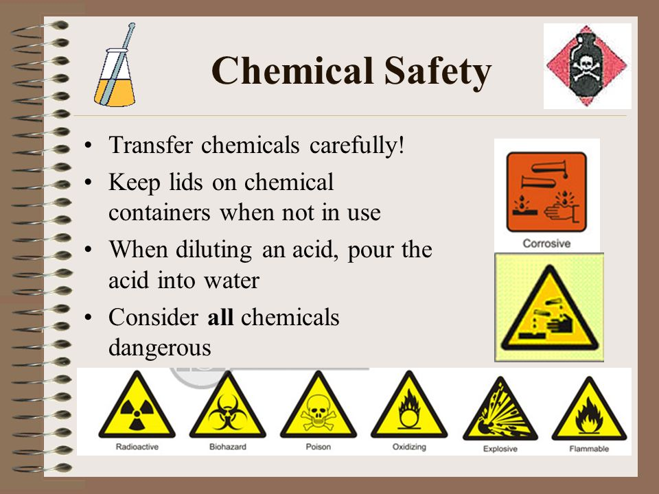 Lab Safety Rules  Safety Symbols Know safety symbols They appear in