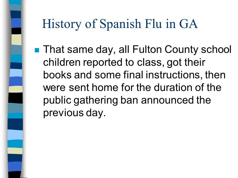 The Spanish Flu Pandemic Spanish Flu N In The United States Alone