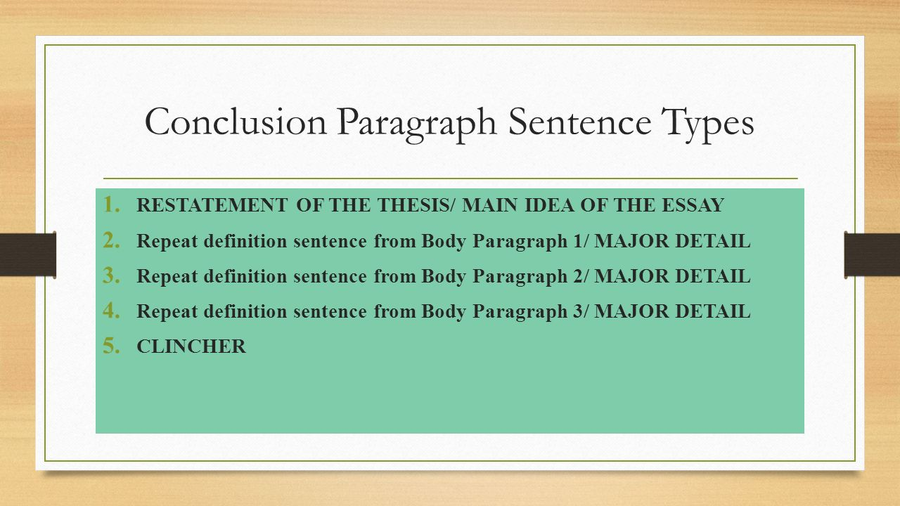 body definition in writing