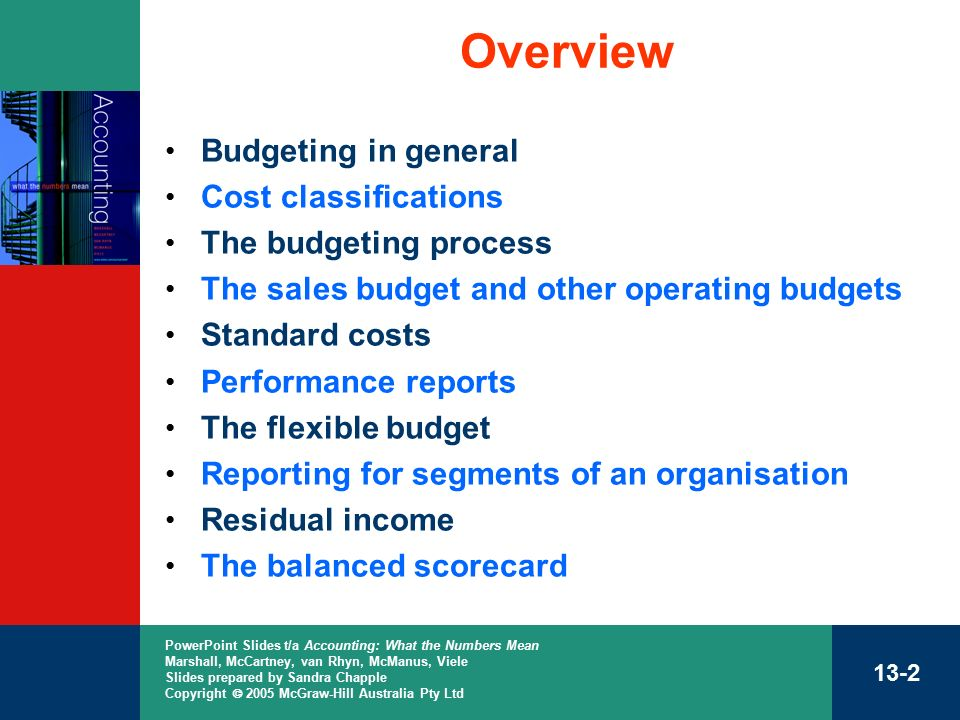 chapter 13 cost analysis for planning and control ppt download