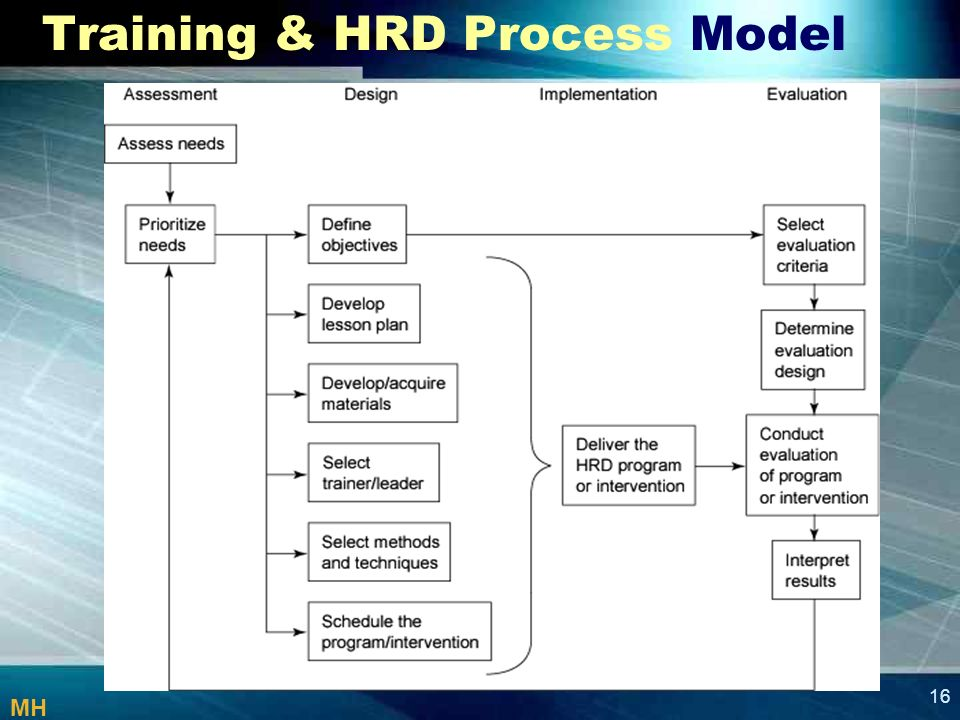 hrd process model