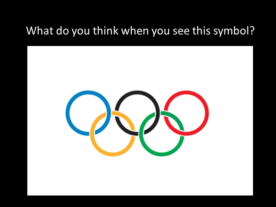 What Do You Think When You See This Symbol Origins Of The Olympic