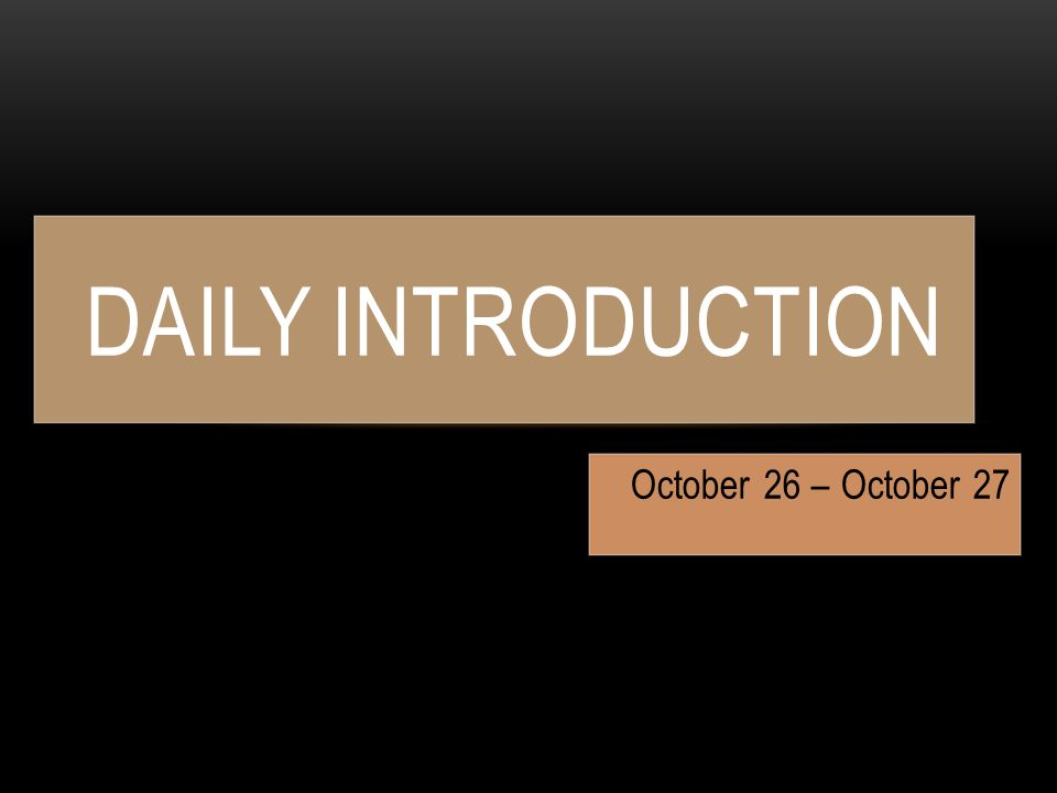 October 26 27 Daily Introduction Homework Standard. 1 October 26 27 Daily Introduction. Worksheet. Vocabulary Worksheet The Crucible At Mspartners.co