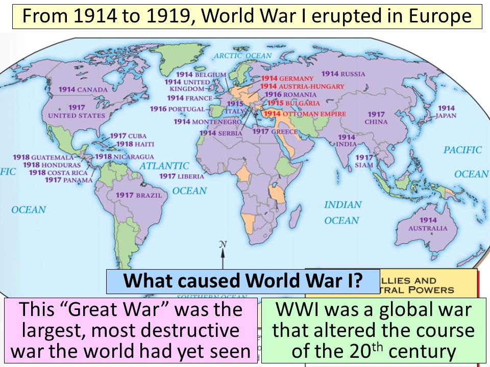 essay on causes of world war 1 In 1914, when britain declared war, it also declared war on behalf of the british empire we will write a custom essay sample on causes of world war one specifically for you for only $1638 $139/page.
