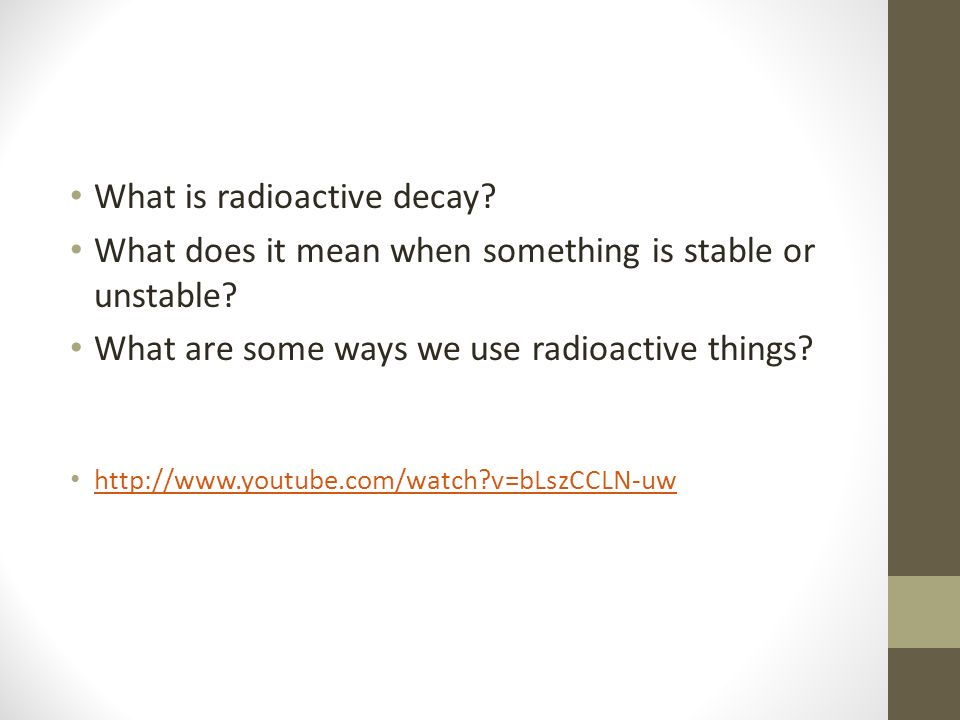Absolute (radioactive) dating definition