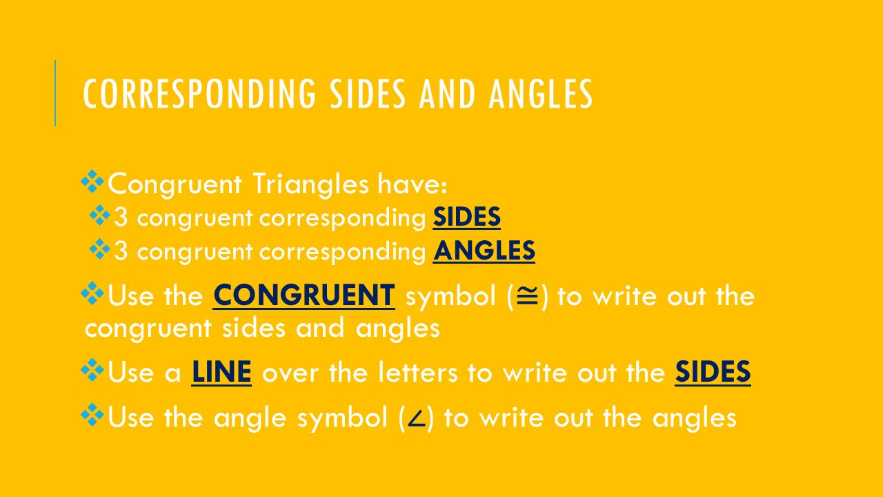 Unit 7 Congruent Triangles And Theorems Final Exam Review Ppt