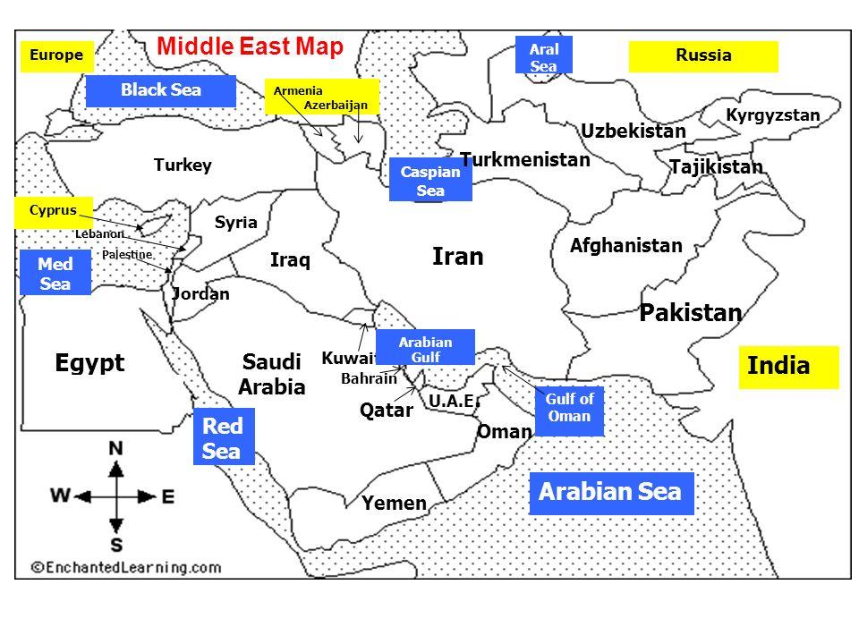 Saudi Arabia Black Sea Kuwait Palestine Lebanon Egypt Cyprus