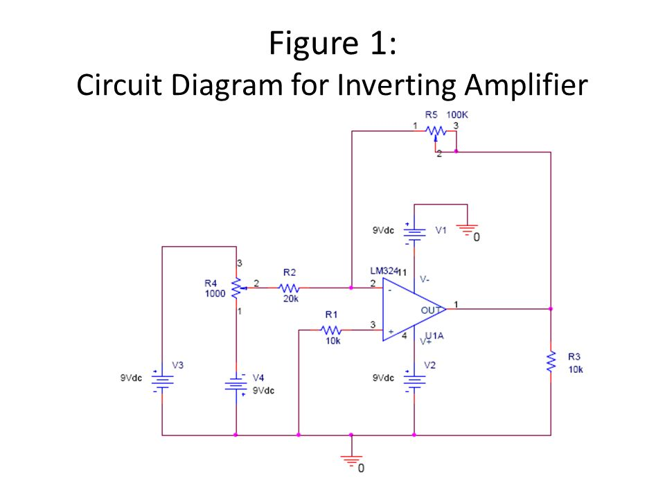 Cool Experiment 10 Inverting Amplifier With Modifications That Require Wiring Cloud Hisonuggs Outletorg