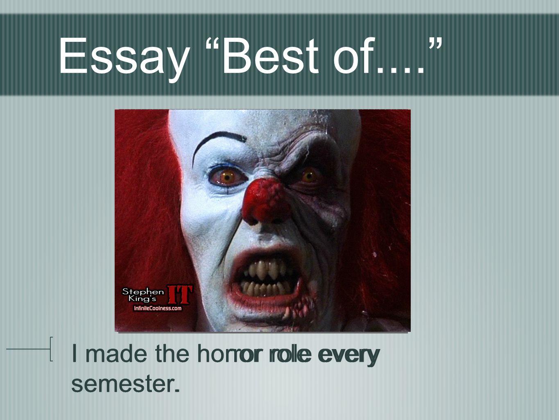 essay on luck