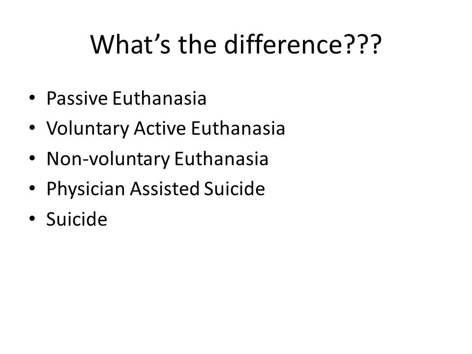 When Is It Right to Die Suicide Euthanasia Suffering Mercy