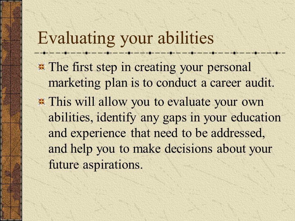 3 evaluating