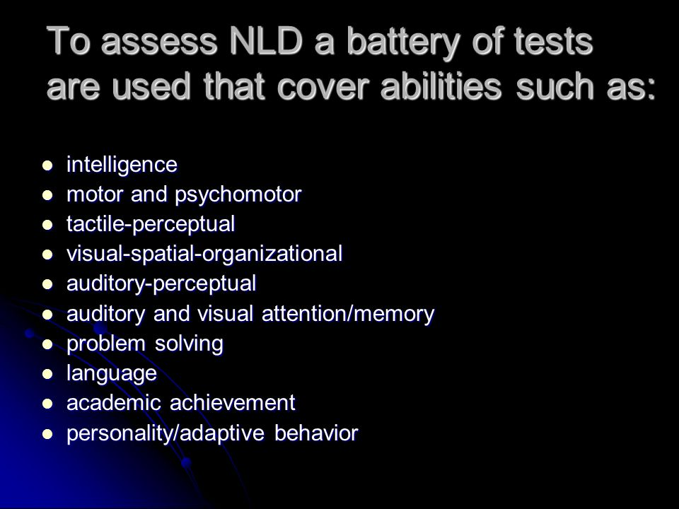 What Is Non Verbal Learning Disorder >> Nonverbal Learning Disorder What Is Nonverbal Learning