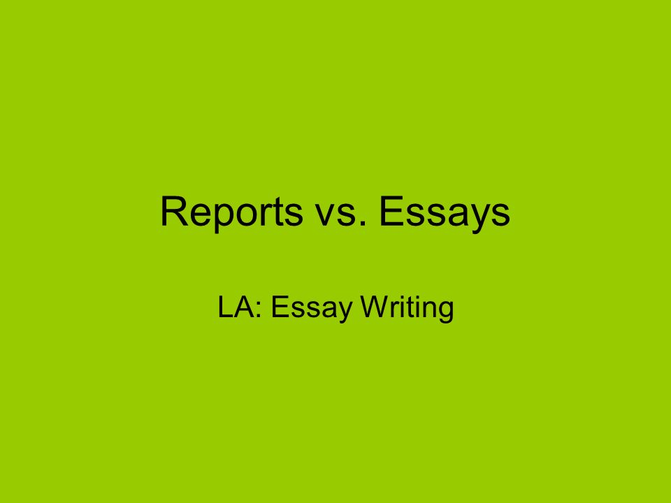 Mental Health Essay  Science Essay also Persuasive Essay Thesis Statement Reports Vs Essays La Essay Writing Reports Are Presenting  How To Write A Thesis Statement For An Essay