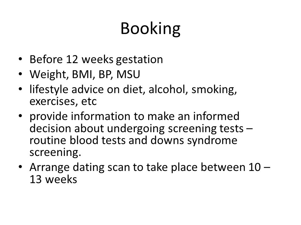 dating blood test