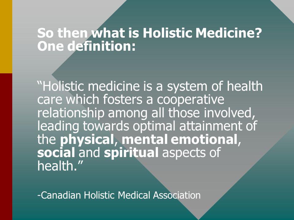 Holistic Medicine and Health Prayer In Medicine Stan Jack