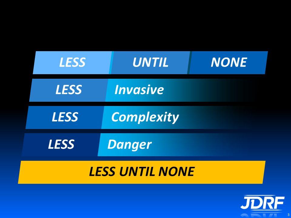 3 Mission Less Until None Danger LESS Complexity Invasive Burden LESSUNTILNONE UNTIL NONE