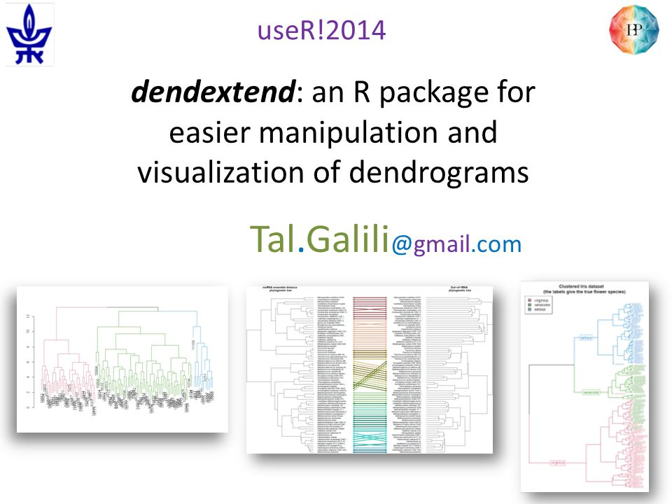 Dendextend: an R package for easier manipulation and visualization