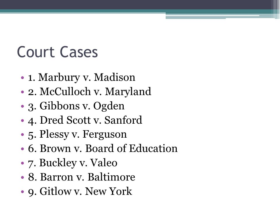 marbury vs madison analysis In this lesson, you'll learn about the significance of the us supreme court case of ''marbury v madison'', and how the case established the.