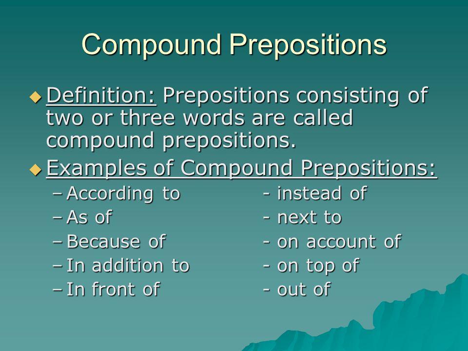 Prepositions presentation english language sliderbase.